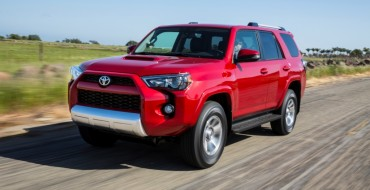 Toyota Motor October Sales Rise Almost 7 Percent Thanks to SUVs, Camry