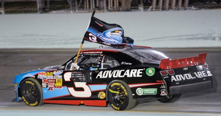Austin Dillon Claims Poll at Daytona 500 in Grandfather's No. 3 Car