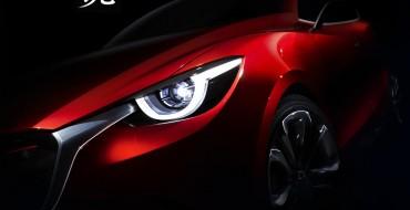 Mazda Teases its HAZUMI Concept Ahead of Geneva