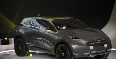 The Kia Niro Concept: Fiddling as Chicago Burns