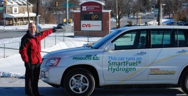 Toyota FCHV-adv Fleet Vehicles Survive the Snowpocalypse