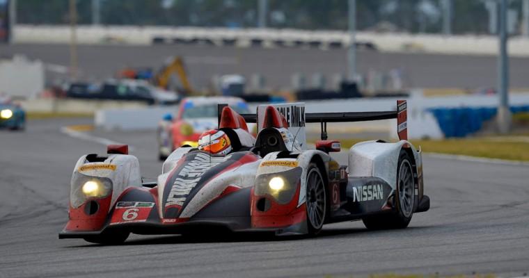 Two Nissan Racecars Grab Top 10 Spots at Rolex 24 at Daytona