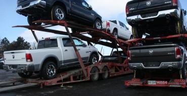 2014 Ram 1500 EcoDiesel Shipping to U.S. Dealerships