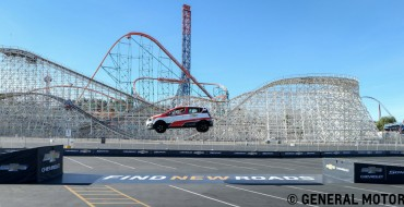 Rob Dyrdek and Chevy Sonic Set World Record for Reverse Ramp Jump