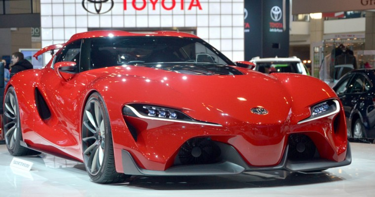 Spotted: Toyota FT-1 at Cars and Coffee Irvine