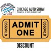 2015 Chicago Auto Show Discount Tickets