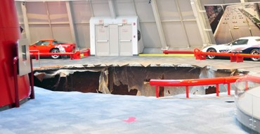 Chevy to Oversee Restoration of the Corvettes Eaten by Sinkhole