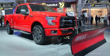 F-150 Snow Plow Prep Option Takes on Jack Frost