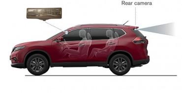 Nissan Motors Develops the Smart Rearview Mirror