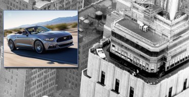 Ford Mustang at the Empire State Building: Celebrating 50 Years