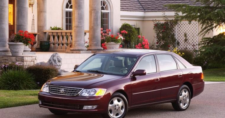 2003 – 2004 Toyota Avalon Recall Alert