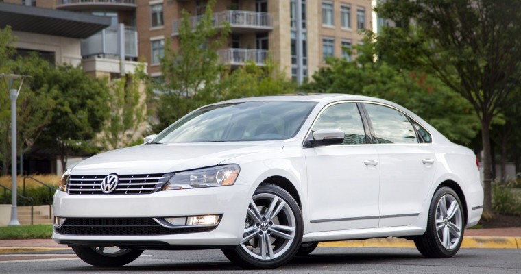 Volkswagen Passat Recall Affects 150,000 Sedans