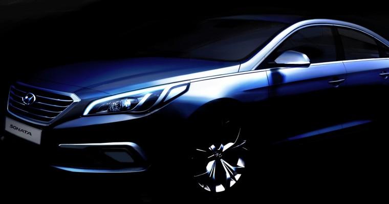 Hyundai Previews 2015 Sonata Redesign Ahead of New York Auto Show