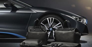 BMW and Louis Vuitton to Create i8-Inspired Luggage