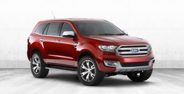Ford Everest Concept Reemerges for the Bangkok International Auto Show