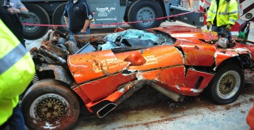 1984 PPG Pace Car Corvette Recovered from Sinkhole