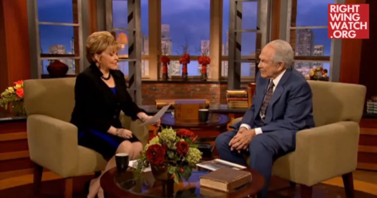 Pat Robertson Says Dumb Thing About Car Accidents Because Pat Robertson