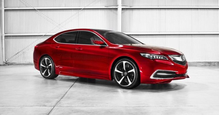 2015 Acura TLX to Bow in New York