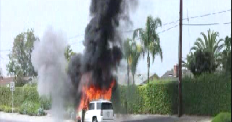 In Today's GM Schadenfreude: GMC Yukon Catches Fire During Test Drive
