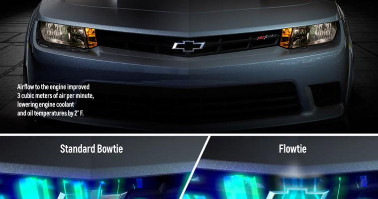 Z/28 Chevy Bowtie Cools Camaro