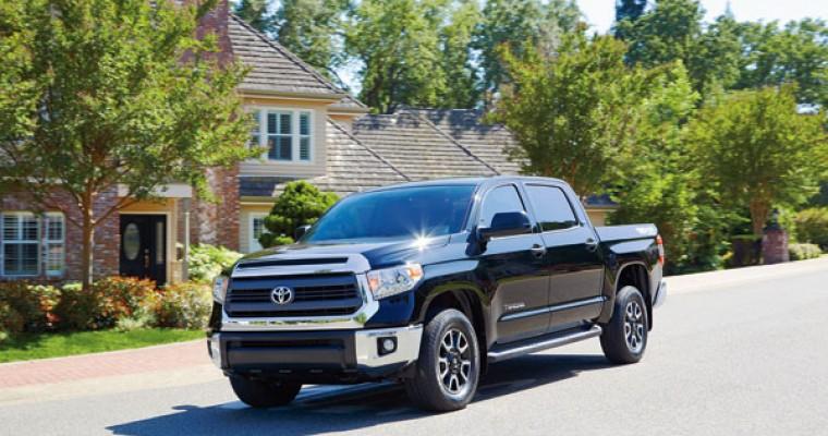 Toyota Tundra Recall Affects 16,200 2013-14 Trucks