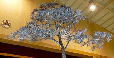 JAMA Technicians Present 'The Tree of Hope' Statue to Rikuzentakata