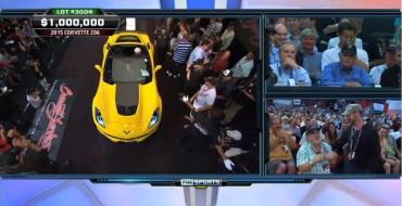 Rick Hendrick Buys First 2015 Corvette Z06 Stingray for Charity