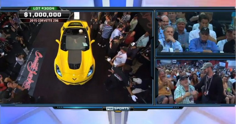Rick Hendrick Buys First 2015 Corvette Z06 Stingray for Charity