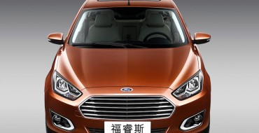 Ford's First Quarter Sales Rise in China