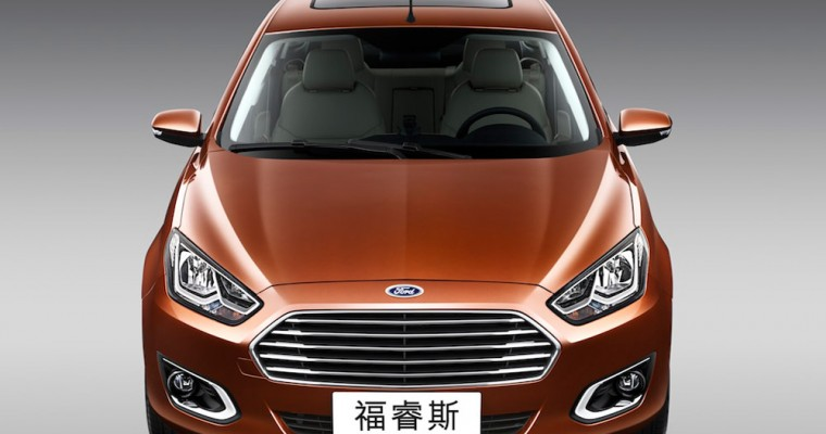 Ford's Sales Rise in China on Record Month for Escort, Mondeo