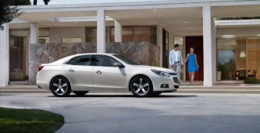2014 Chevrolet Malibu Earns TOP SAFETY PICK+ Honors from IIHS