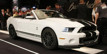 2014 Ford Mustang Shelby GT500 Convertible Overview