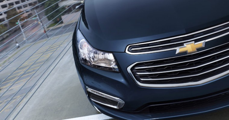 Updates for the 2015 Chevy Cruze Announced