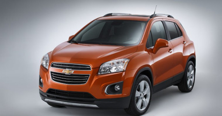 [PHOTOS] 2015 Chevy Trax to Join Chevrolet Lineup