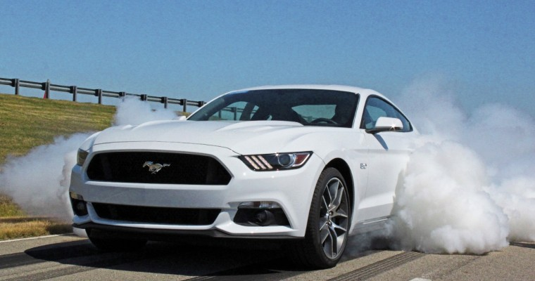 2015 Ford Mustang GT Line-Lock Benefits Drag Racers