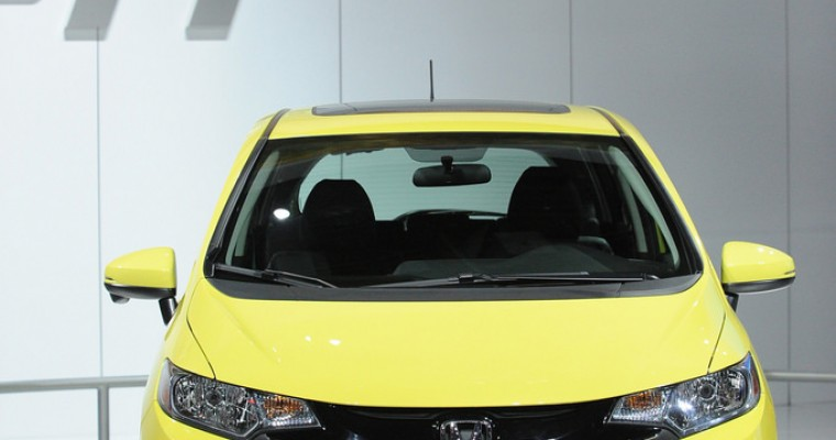 A look at the Colorful 2015 Honda Fit