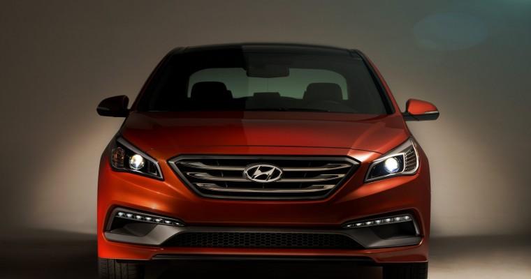 [PHOTOS] 2015 Hyundai Sonata Unleashed at NYIAS