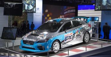 2015 Subaru Rallycross STI Debuts in New York