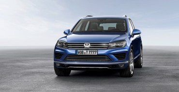 [PHOTOS] 2015 VW Touareg Revealed Before Beijing