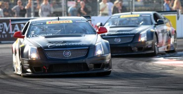 Cadillac Racing Takes Top Spots in Long Beach