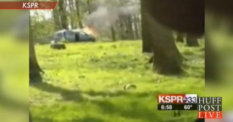 Car Burns in Lion Safari Exhibit, Mom Makes Tough Decision