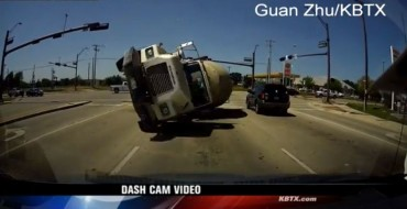Cement Truck Crash Is Horrifying, Solidifies Why Dash Cams Are Valuable