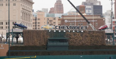 2014 Chevy Trucks in Comerica Park: It's Baseball Season