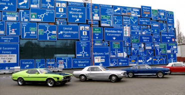 Amazing Race Ford Mustang Challenge Features Classic Ponies