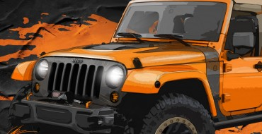 Chrysler Offers 2014 Moab Easter Jeep Safari Vehicles Sneak Peek