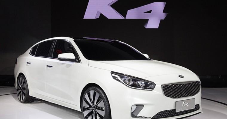 Kia K4 Concept Keeps it Classy in Beijing