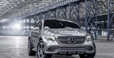 Mercedes-Benz Concept Coupé SUV Appears in Beijing