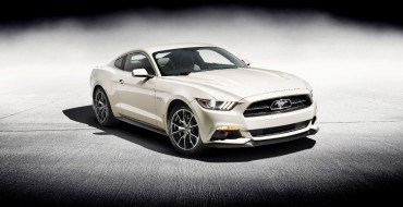 [PHOTOS] Ford Unveils Mustang 50 Year Limited Edition Model