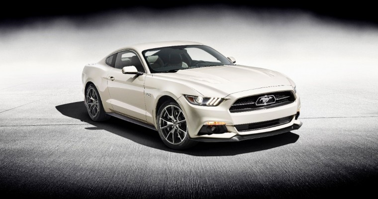 1964th 2015 Ford Mustang 50 Year to Be Auctioned in Las Vegas