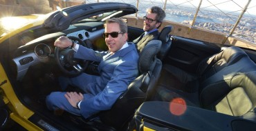 How Ford and DST Industries Put a Mustang on the Empire State Building